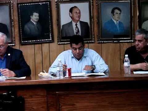 Sesión Ordinaria Publica # 36 en Delicias Chihuahua