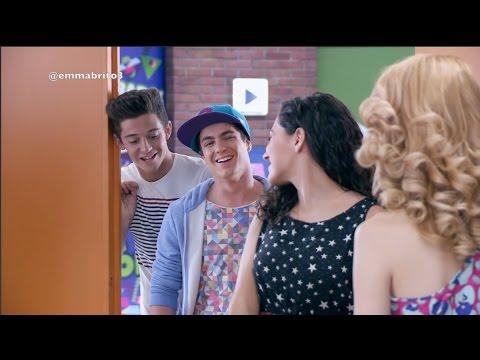 Violetta 3 - Fedemila y Naxi recuerdan sus momentos en el Studio (final extendido)