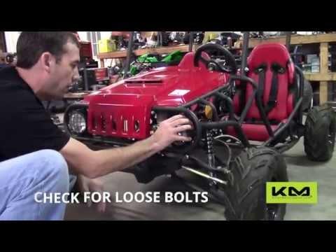 Tao Tao 125cc Jeep Max Go Kart Maintenance