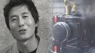 배우 김주혁 사망, 믿기지 않는 교통사고 현장 모습 @본격연예 한밤 43회 20171031