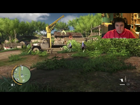 Avestruces Asesinas!! - FAR CRY 3 Gameplay