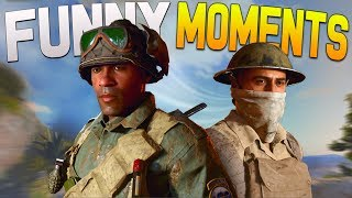 COD WW2 Funny Moments - Prank Call, Tweet Challenge & More! (WW2 BETA)