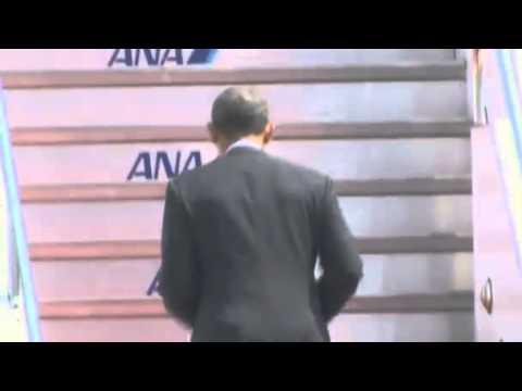 Obama wraps up Japan visit