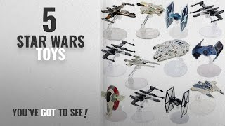Top 10 Star Wars Toys [2018]: Star Wars (12 Pack) Hot Wheels Spaceship Models Toys Set Figures &