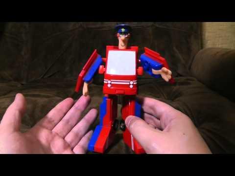 Postman Pat Convertible (Transformer)   Ashens