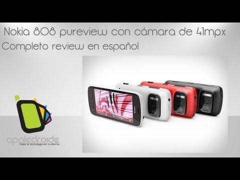 Nokia 808 Pureview. un smartphone con cámara de 41 megapixeles