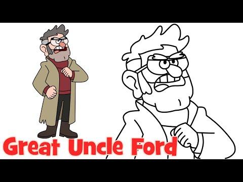 Видео как нарисовать Форд