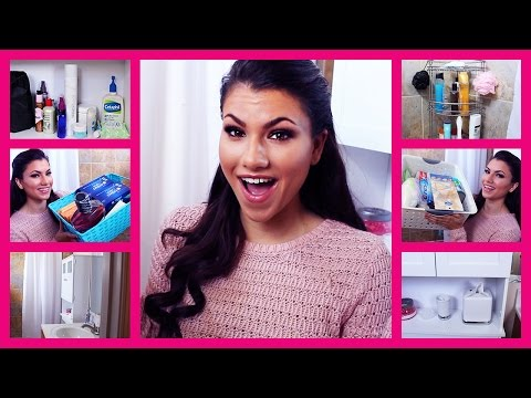 What's In My Bathroom?! | Shower, Cabinets & Under Sink!