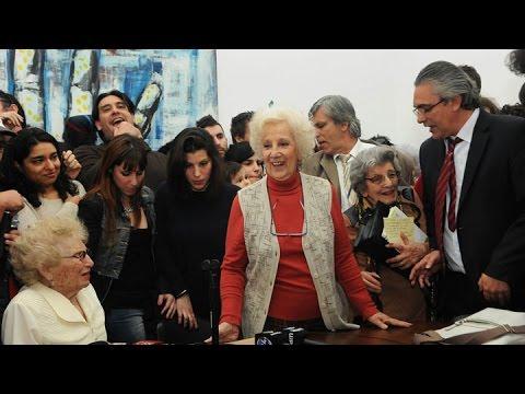 Estela de Carlotto tras recuperar a su nieto: