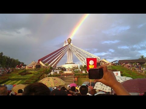 Dancing Sun Miracle - Divine Mercy Hills, Philippines video