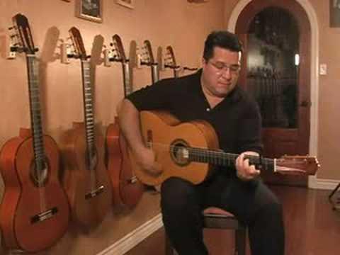 Oscar J Valdez / Handmade Custom Flamenco Alegria