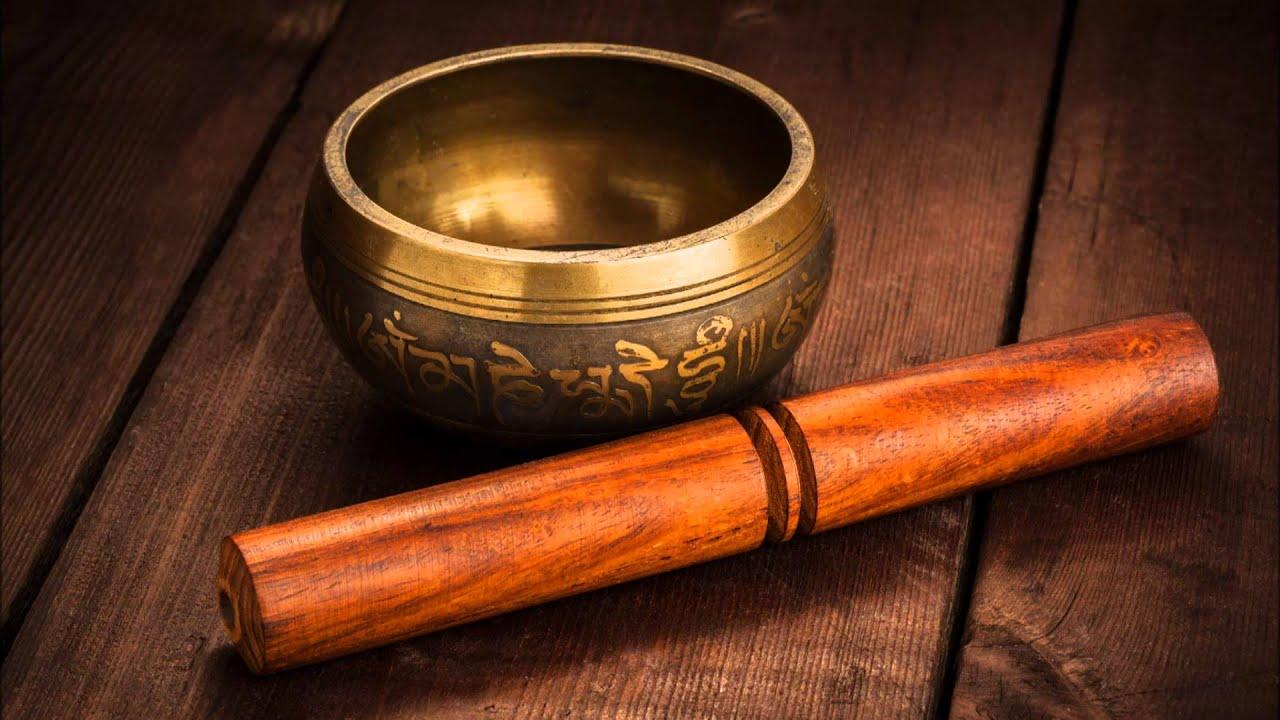 Muzyka Relaksacyjna - Tybetańska Śpiewająca Misa.  Muzyczne Tło.