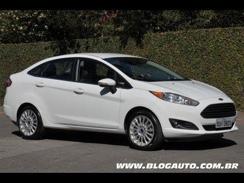 Ford New Fiesta Sedan 2014 Apresenta 231 227 O Blogauto Youtube