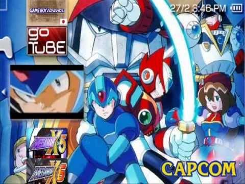 Megaman X series [PSX-PSP]