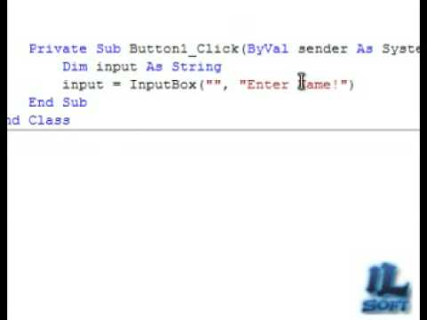 how to make a message box in visual basic