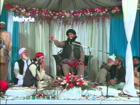 mufti muhammad hanif qureshi best speech at mehafil e milad gulistan colony rawalpindi 29 march 2012