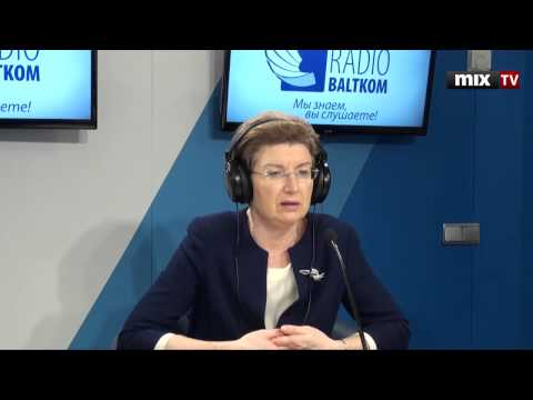 Лидер партии no Sirds Latvijai Ингуна Судраба в программе Утро на Балткоме video