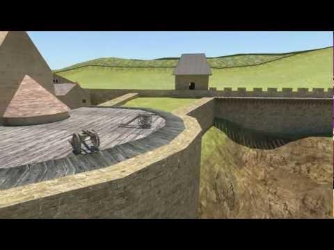 Egri vár 1552-es animációja HD
