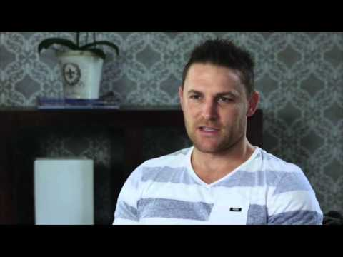 Up close and personal: Brendon McCullum
