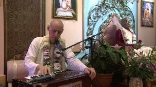 2012.10.31. Kirtan before SB ISKCON Riga Latvia