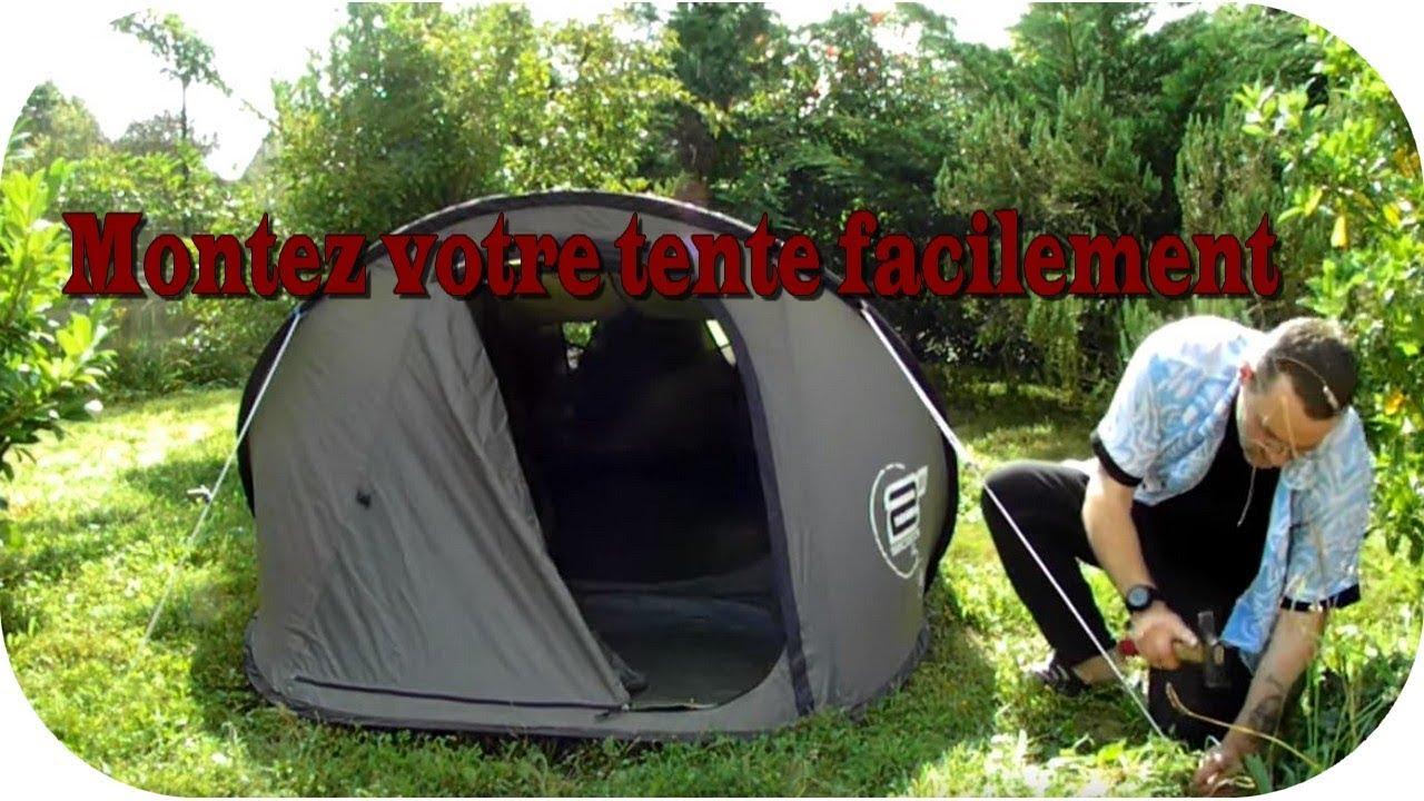 montage tente quechua 2 places 2 seconds ii youtube. Black Bedroom Furniture Sets. Home Design Ideas