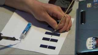 mqdefault SolartekTV ~ Howto Solder ~ How to Solder TAB wire  SOLAR CELLS ~ CC ~ closed caption