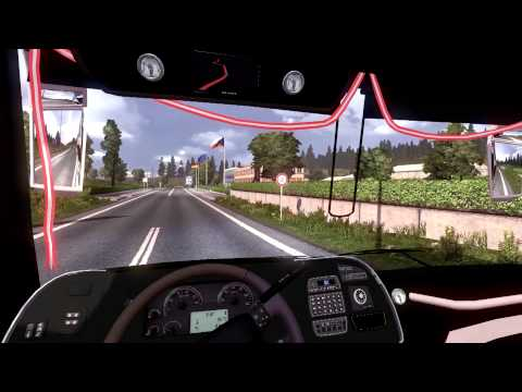 Euro Truck Simulator 2 Bus trip with Marcopolo G7 1800DD Volvo part5