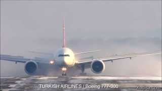 Dangerous Emergency Landing in Crosswinds
