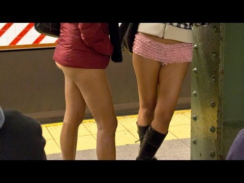 No Pants Subway Ride 2012 video