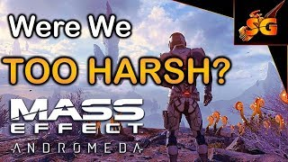 Were We Too Harsh On Mass Effect Andromeda?? (looking back on ME: Andromeda and discussing)