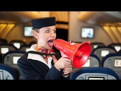 Топ 20 Самых Раздражающих Пассажиров в Самолёте
