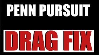 Penn Reel Drag Sticking Fix For Pursuit 2 Models