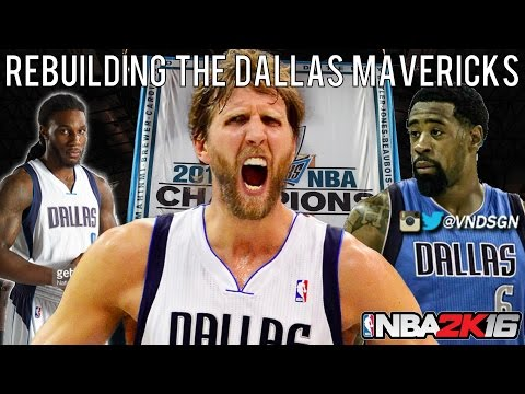 NBA 2K16 MyLEAGUE: Rebuilding the Dallas Mavericks!