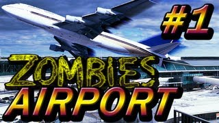 Custom Zombies on airport 4 player Part 1