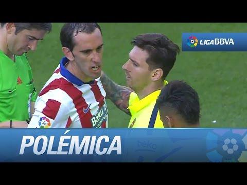 Polémica: rifirrafe entre Godín y Neymar