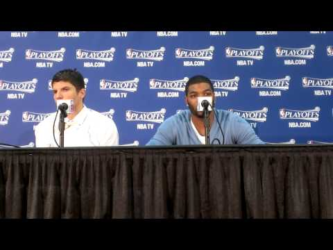 Atlanta Hawks Kyle Korver & Josh Smith On Win Over Pacers