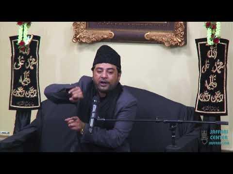 Shahadat of Bibi Sakina SA Maulana Imran Haider SaqiZaidali Majlis 1439:2017