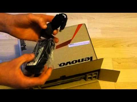 UNBOXING Lenovo ThinkPad Edge E135 Notebook