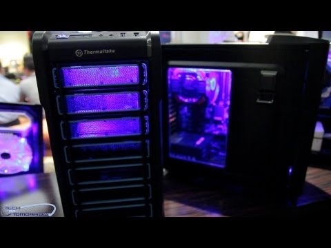 Thermaltake Shows Us Their Line of Urban & Chaser Series Cases