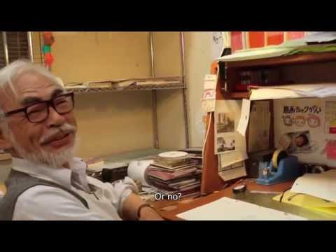 The Kingdom of Dreams and Madness Clip - Watch Hayao Miyazaki Animate