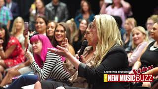 Download Lagu THE VOICE BACKSTAGE Kelly Clarkson and Brynn Cartelli Interview Gratis STAFABAND
