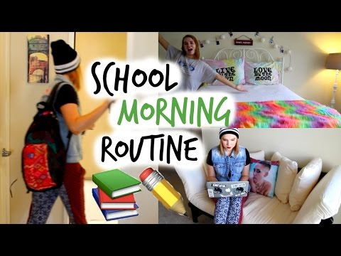 School Morning Routine | Fall 2014!
