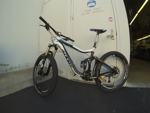 1st ride - 2013 Giant Reign X0  - All Mountain Shredder - Gopro Hero 3 - 10/21/13