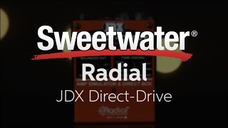 Radial JDX Direct Drive Active Direct Box and Amp Simulator Review