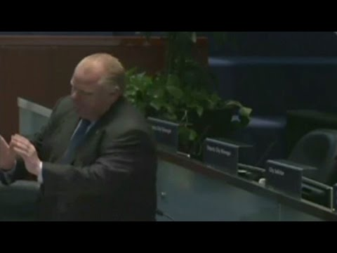 Rob Ford wears his dancing shoes (again)