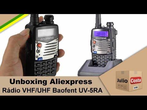 Unboxing Aliexpress - HT Baofeng UV 5RA