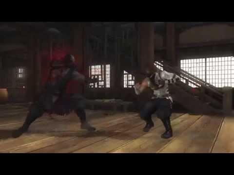 DEAD OR ALIVE 5 LAST ROUND - RAIDOU VS HAYATE
