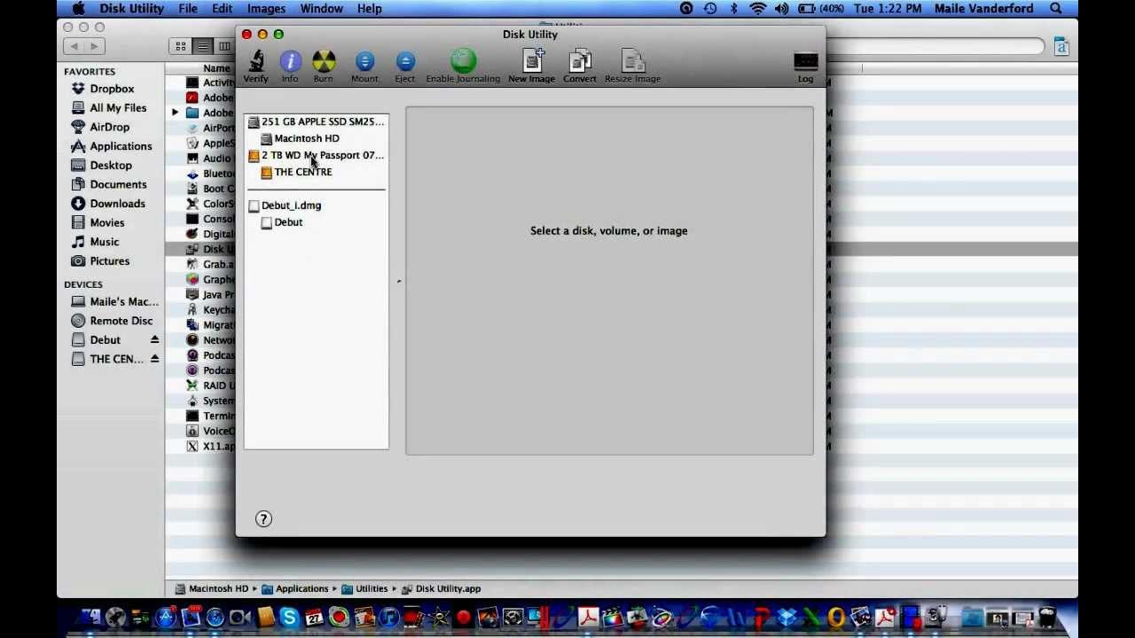 mac how to reformat external hard drive