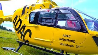 WORLDS BIGGEST RC MODEL ADAC CHRISTOPH 31!  SCALE HELICOPTER EC135 EUROCOPTER! VARIO HELICOPTER!