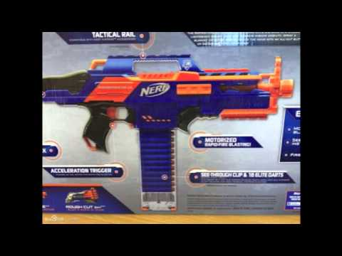 NERF Elite Rapid-Strike CS-18 (NEW Images!)